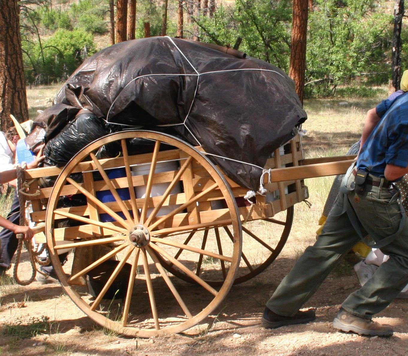 pioneer handcarts